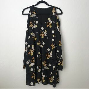 ZARA - Black Floral Dress